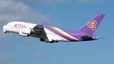 A picture of HSTUF - Airbus A380841 - Thai Airways - © srmark