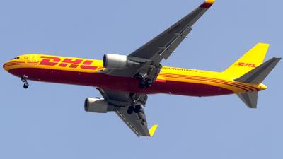 A9C-DHZ - Boeing 767-323(ER)(BCF) - DHL International Aviation