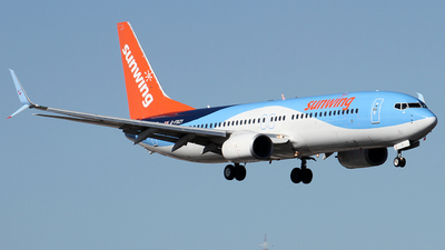 G-FDZY - Boeing 737-8K5 - Sunwing Airlines (TUI)