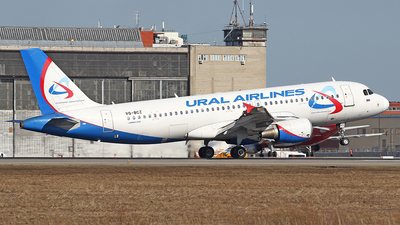 A picture of VQBCZ - Airbus A320214 - Ural Airlines - © Airyura