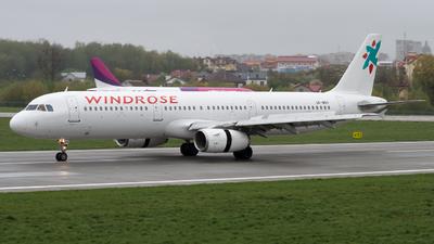 UR-WRV - Airbus A321-231 - Wind Rose Aviation
