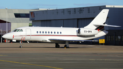 CS-DFK - Dassault Falcon 2000EX - NetJets Europe