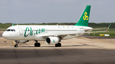 A picture of B8873 - Airbus A320214 - Spring Airlines - © Charlie-Aviationphotography