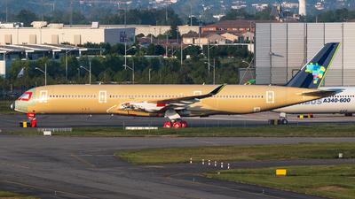 F-WZGQ - Airbus A350-941 - Azul Linhas Aéreas Brasileiras