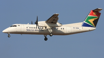 ZS-NMB - Bombardier Dash 8-311 - South African Express