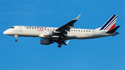A picture of FHBLO - Embraer E190STD - Air France - © Simi