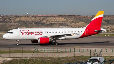 EC-MBU - Airbus A320-214 - Iberia Express