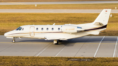 A picture of DCOBI - Cessna 560XL Citation XLS+ - HTM Helicopter Travel Munich - © TG Aviation Spotter