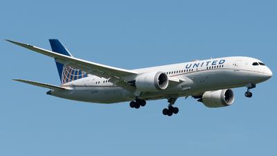 N27908 - Boeing 787-8 Dreamliner - United Airlines