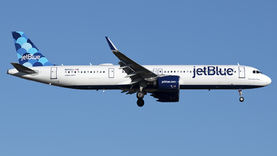 N2043J - Airbus A321-271NX - jetBlue Airways