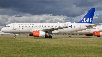 A picture of OYKAN - Airbus A320232 - SAS - © Tobias Green