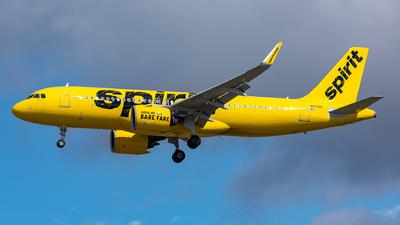 N912NK - Airbus A320-271N - Spirit Airlines