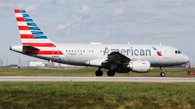 N746UW - Airbus A319-112 - American Airlines
