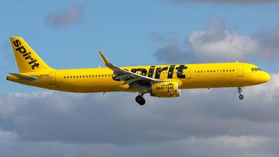 N675NK - Airbus A321-231 - Spirit Airlines