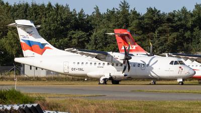 OY-YAL - ATR 42-500 - Nordic Aviation Capital (NAC)