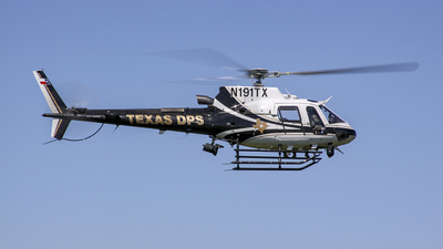 N191TX - Eurocopter AS 350B3 Ecureuil - United States - Texas Department of Transportation
