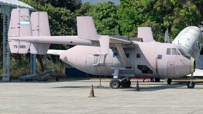 802 - IAI Arava 202 - El Salvador - Air Force