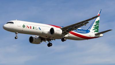 A picture of T7ME7 - Airbus A321271NX - MEA - © Jan Par
