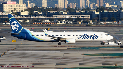 A picture of N494AS - Boeing 737990(ER) - Alaska Airlines - © Rocky Wang