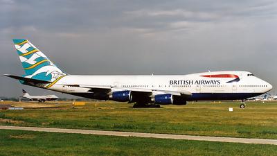 G-BDXD - Boeing 747-236B - British Airways