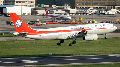 A picture of B6518 - Airbus A330243 - Sichuan Airlines - © ECO707