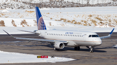 A picture of N146SY - Embraer E175LR - United Airlines - © HA-KLS