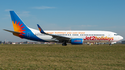 A picture of GGDFU - Boeing 7378K5 - Jet2 - © Alessandro Maggia