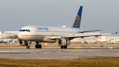 A picture of N489UA - Airbus A320232 - United Airlines - © Haocheng Fang