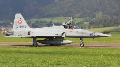 J-3070 - Northrop F-5E Tiger II - Switzerland - Air Force