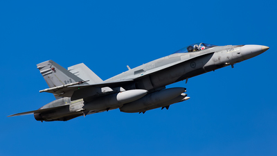 188758 - McDonnell Douglas CF-188 Hornet - Canada - Royal Air Force