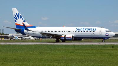 D-ASXD - Boeing 737-8AS - SunExpress Germany