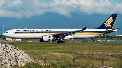 9V-STC - Airbus A330-343 - Singapore Airlines