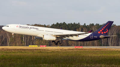 A picture of OOSFG - Airbus A330343 - Brussels Airlines - © Stefan Schmitz