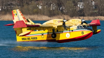 A picture of IDPCE - Canadair CL415 - [2009] - © Marco Papa