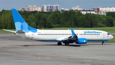 VP-BQB - Boeing 737-8MC - Pobeda