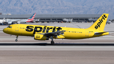 A picture of N609NK - Airbus A320232 - Spirit Airlines - © Yixin Chen