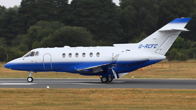 G-RCFC - Hawker Beechcraft 900XP - Saxon Air