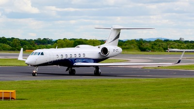 VP-CRO - Gulfstream G550 - Private