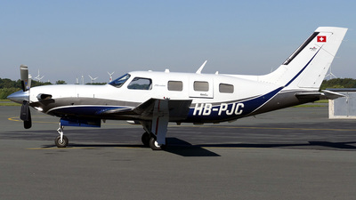 HB-PJC - Piper PA-46-500TP Meridian - Private
