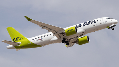 A picture of YLABA - Airbus A220300 - Air Baltic - © Pablo Romero