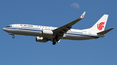 A picture of B1760 - Boeing 73789L - Air China - © M.T