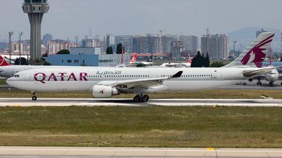 A7-AED - Airbus A330-302 - Qatar Airways