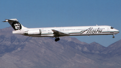 N974AS - McDonnell Douglas MD-83 - Alaska Airlines