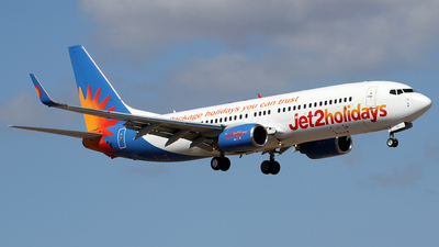 A picture of GJZHD - Boeing 737808 - Jet2 - © Alfonso Solis