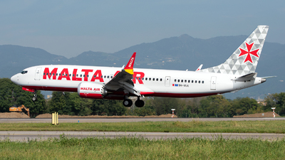9H-VUA - Boeing 737-8-200 MAX - Malta Air