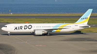 JA601A - Boeing 767-381 - Air Do (Hokkaido International Airlines)