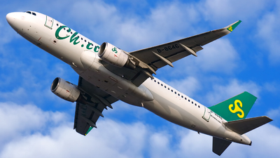A picture of B8646 - Airbus A320214 - Spring Airlines - © Stefano R