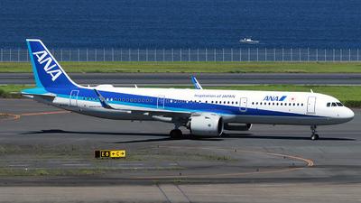 A picture of JA150A - Airbus A321272N - All Nippon Airways - © TRAVAIR