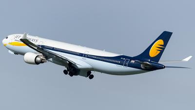 VT-JWR - Airbus A330-302 - Jet Airways