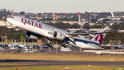 A7-BEO - Boeing 777-3DZER - Qatar Airways